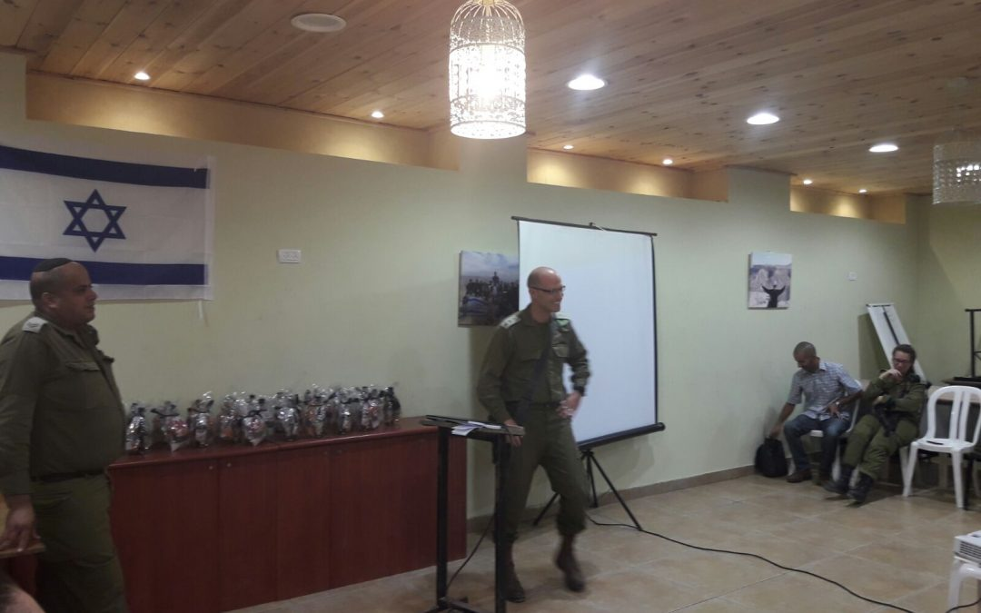Lev Haolam Packages Presented to Israel Defense Forces (IDF) Soldiers at Judea and Samaria Jubilee Celebration