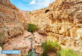 Nahal Prat: A Judean desert spring with a fascinating history