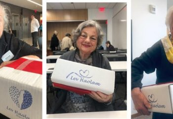 Worldwide Lev Haloam community brings hope to Holocaust survivors