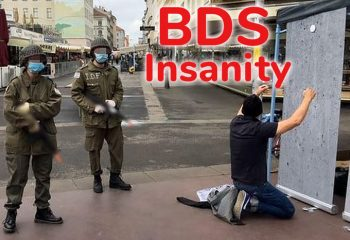 BDS street drama in Vienna: Harmless play or deadly reality?